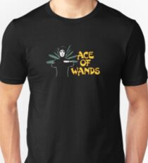 ACE OF WANDS - TAROT & LOGO T-Shirt