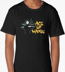 ACE OF WANDS - TAROT & LOGO Long T-Shirt
