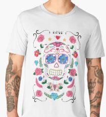 Candy Skull. Men's Premium T-Shirt
