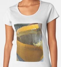 Joint Collaboration. Some how this Pumpkin rotted over three days and resealed itself. Women's Premium T-Shirt