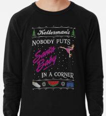 DIrty Dancing Christmas Sweater - Santa Baby Lightweight Sweatshirt