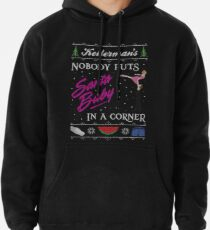 DIrty Dancing Christmas Sweater - Santa Baby Pullover Hoodie