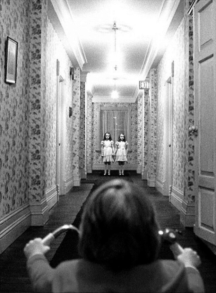 The Shining- Hallway by Biff85