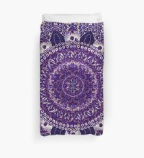 Royal Purple Mandala Duvet Cover