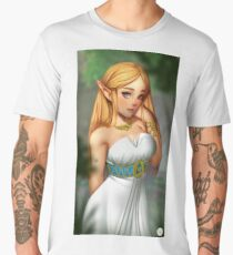 Princess Zelda | BOTW Fanart Men's Premium T-Shirt