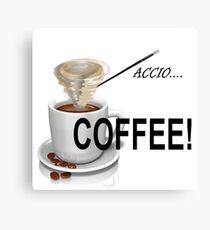 Summon Your Caffeine! Canvas Print