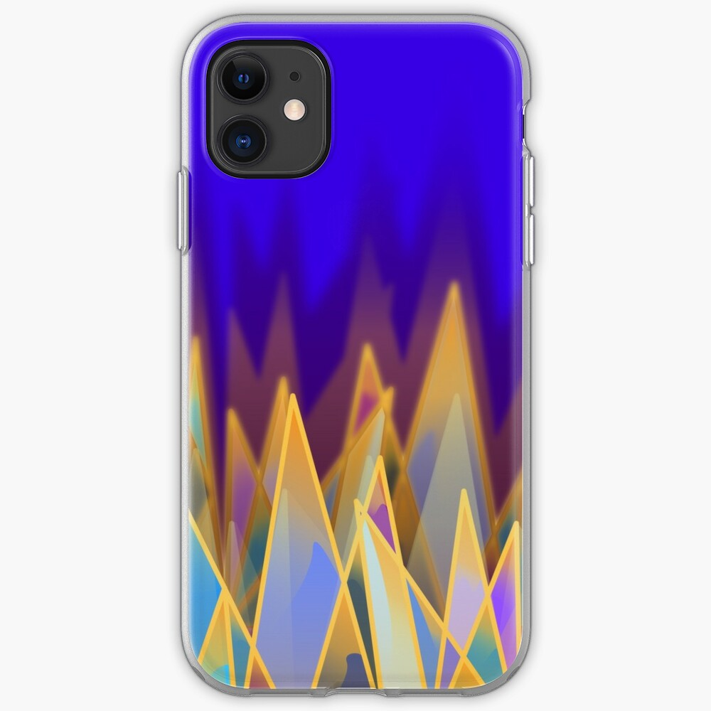 Golden Jewelled Mountains iPhone Case & Cover