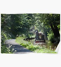 The Towpath Poster