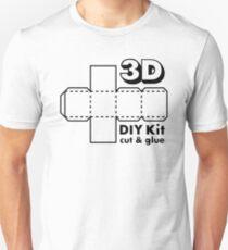 3D Do it Yourself Kit Unisex T-Shirt