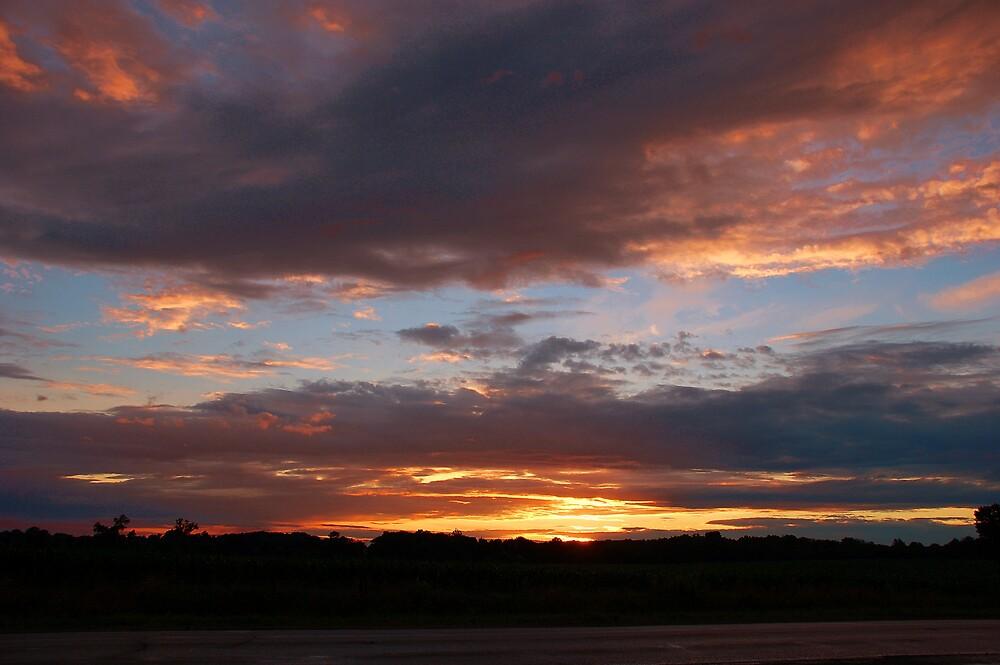 Colorful sunset by kentuckyblueman