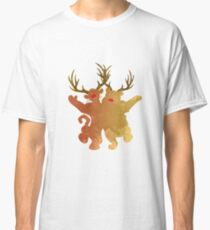 Christmas Friends Inspired Silhouette Classic T-Shirt