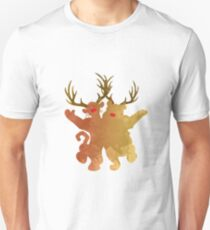 Christmas Friends Inspired Silhouette T-Shirt