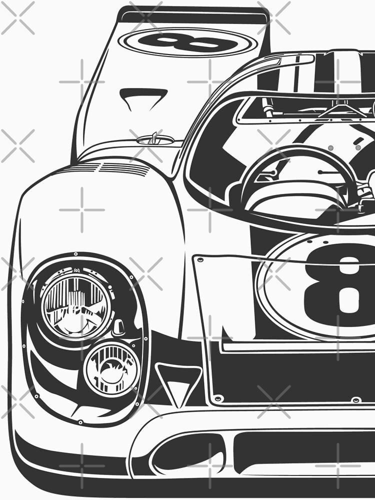 Racing Legends 917k Womens Premium T Shirt By Olegmarkaryan