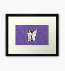 Lupin and Tonks Framed Print