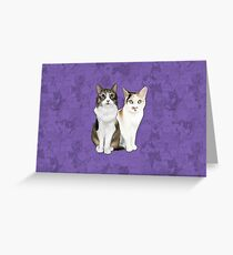 Lupin and Tonks Greeting Card