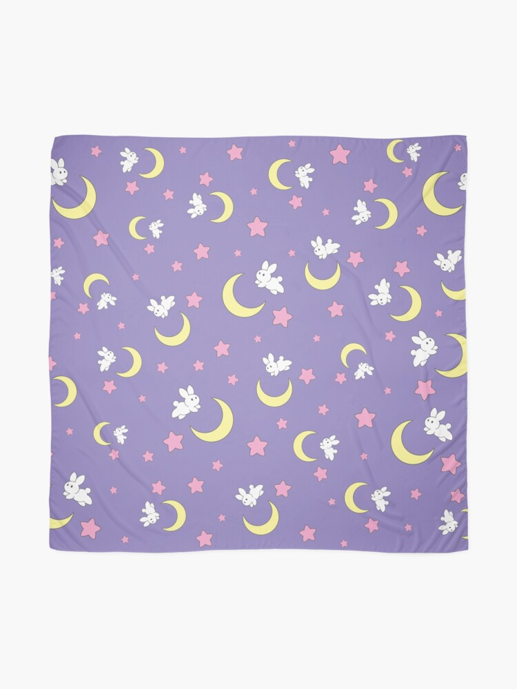 Alternate view of Rabbit of the Moon Scarf