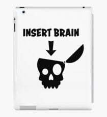 Please insert Brain iPad Case/Skin