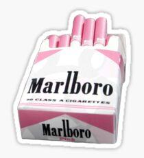 ** Pink Marlboro Cigarettes ** Sticker