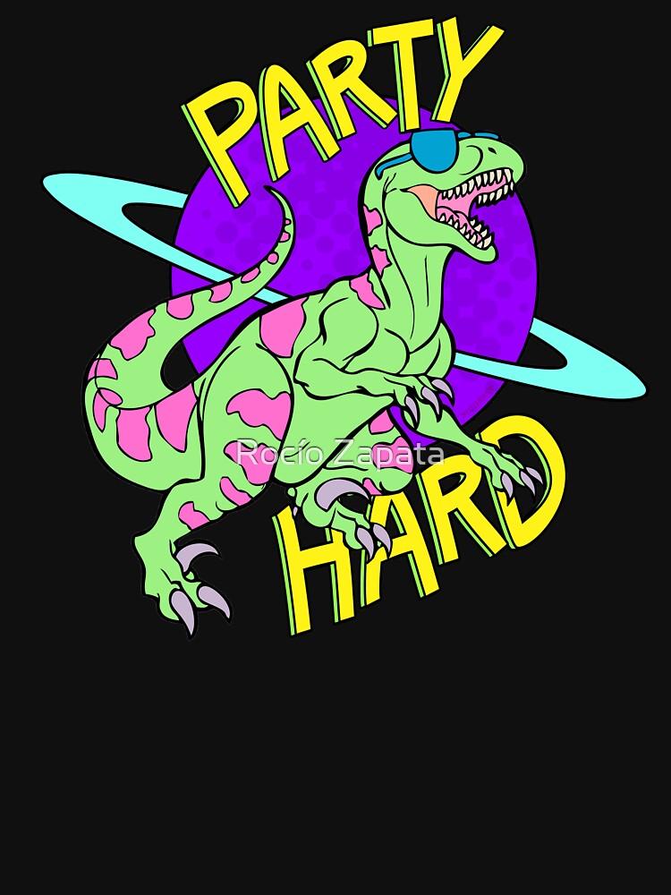 Fiesta duro dinosaurio de nyctherion