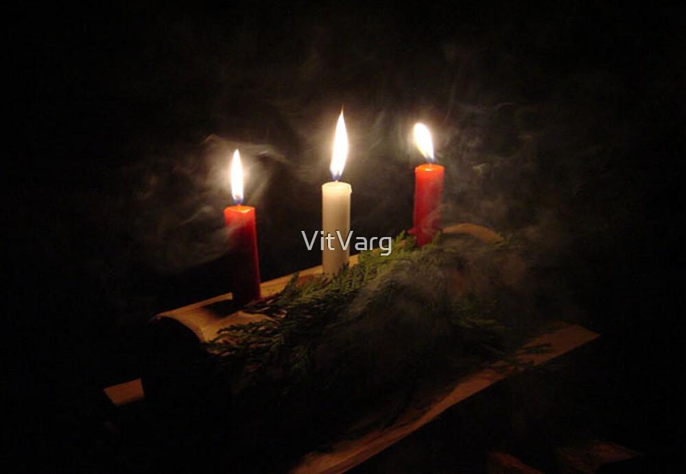 Yule Log by VitVarg