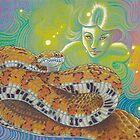 Serpent Goddess, Snake Art by AngelaDeRiso
