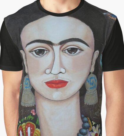 Frida thoughts  Graphic T-Shirt