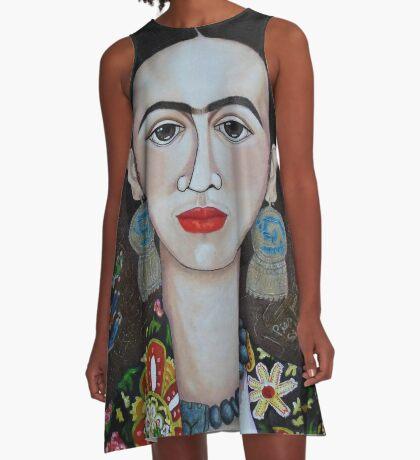 Frida thoughts  A-Line Dress