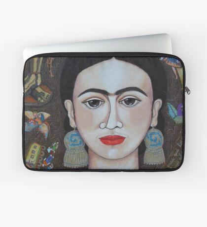 Frida thoughts  Laptop Sleeve