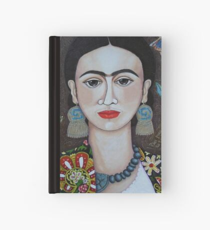 Frida thoughts  Hardcover Journal
