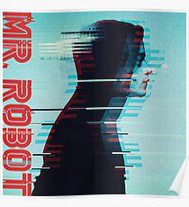 Herr Roboter Elliot Kunst Poster