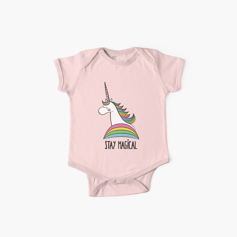 Rainbow Unicorn - Bleib Magisch Baby Body