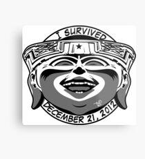 2012 Survivor Metal Print