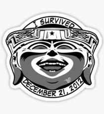 2012 Survivor Sticker