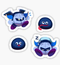 Meta Knight und Gooey! Sticker