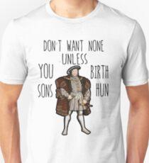 King Henry VIII Unisex T-Shirt