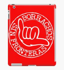 borrachos sin fronteras iPad Case/Skin