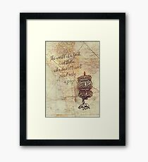 Dreaming of India Framed Print