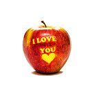 Apple Ich liebe dich von MMPhotographyUK