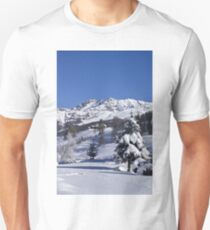 A snowy landscape Unisex T-Shirt