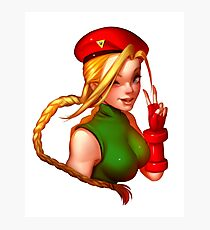 Cammy White | Street Fighter Fanart Photographic Print