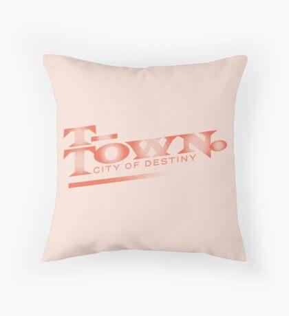 T-town Throw Pillow