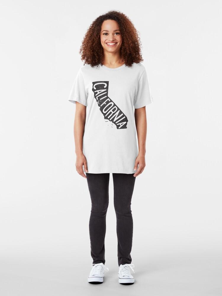 Vista alternativa de Camiseta ajustada California