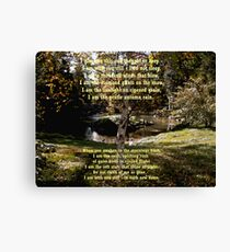 Native American Prayer Canvas Print