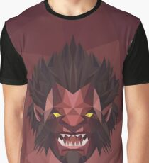 Axe Low Poly Art Graphic T-Shirt