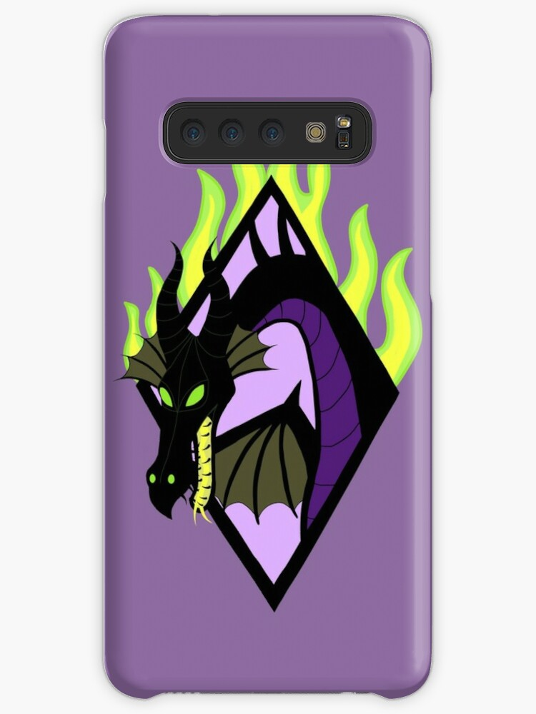 Disney Sleeping Beauty Maleficent Dragon iphone case