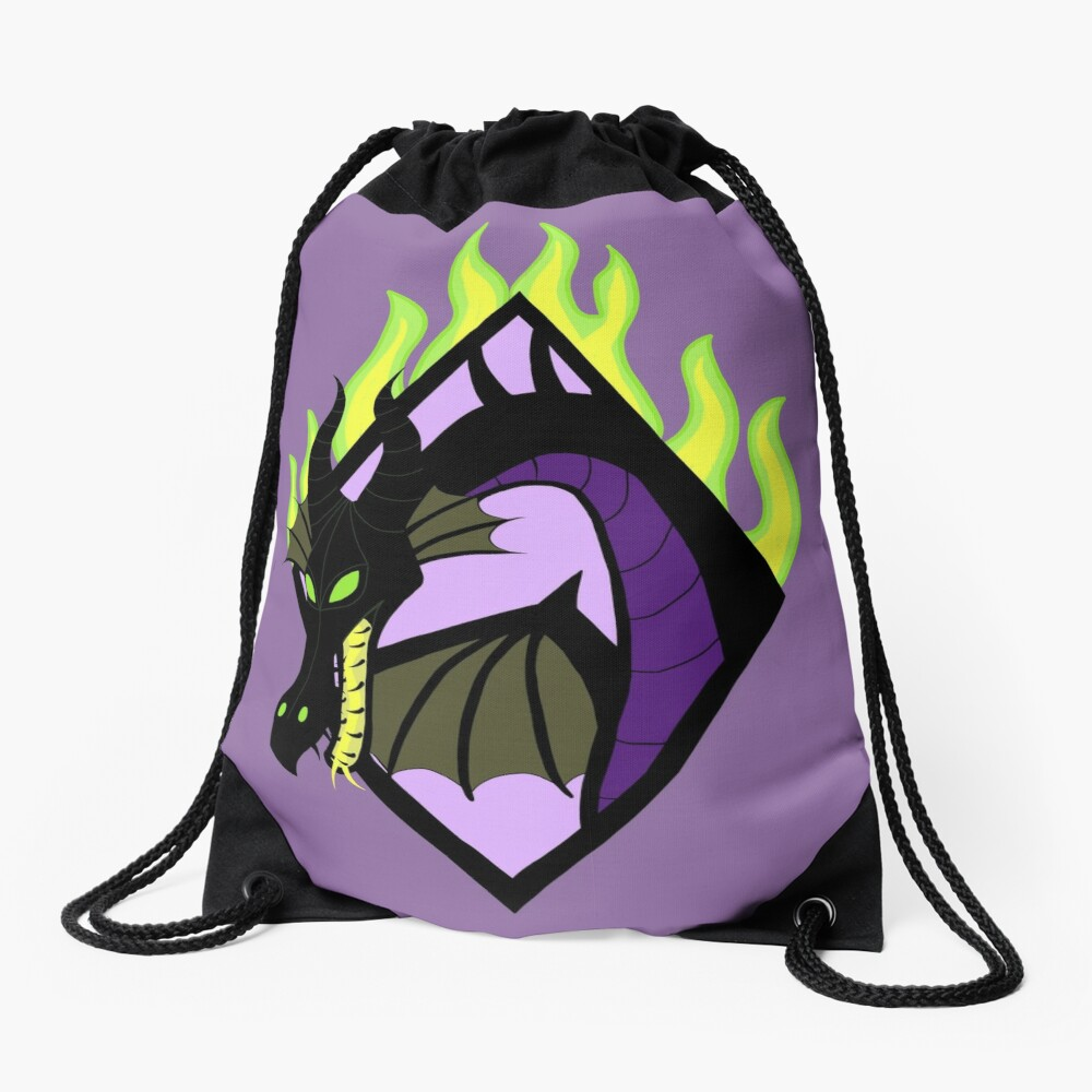 The Mistress of All Evil Drawstring Bag
