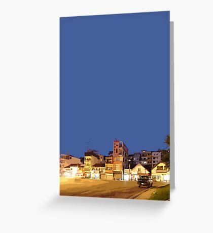 Dalat night Greeting Card