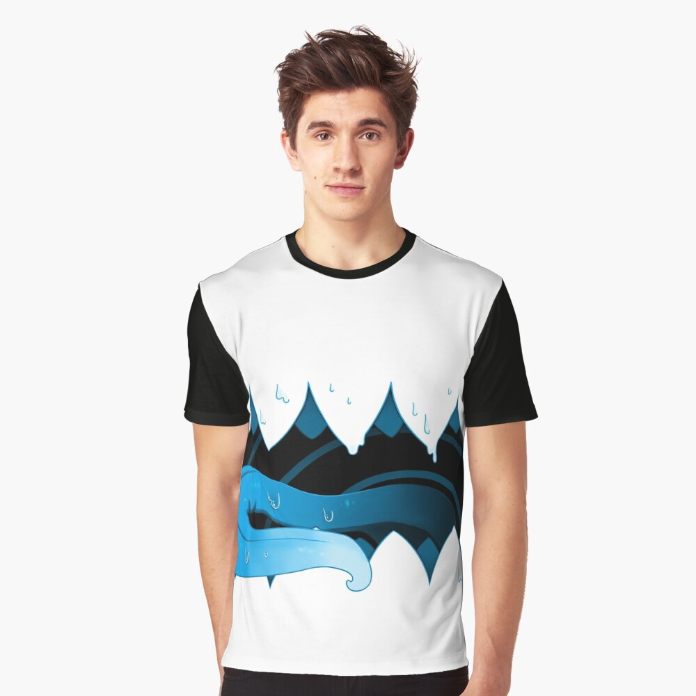 Open Wide Graphic T-Shirt