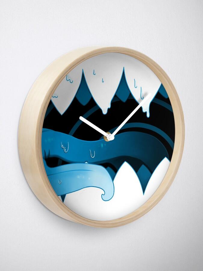 Alternate view of Open Wide Clock