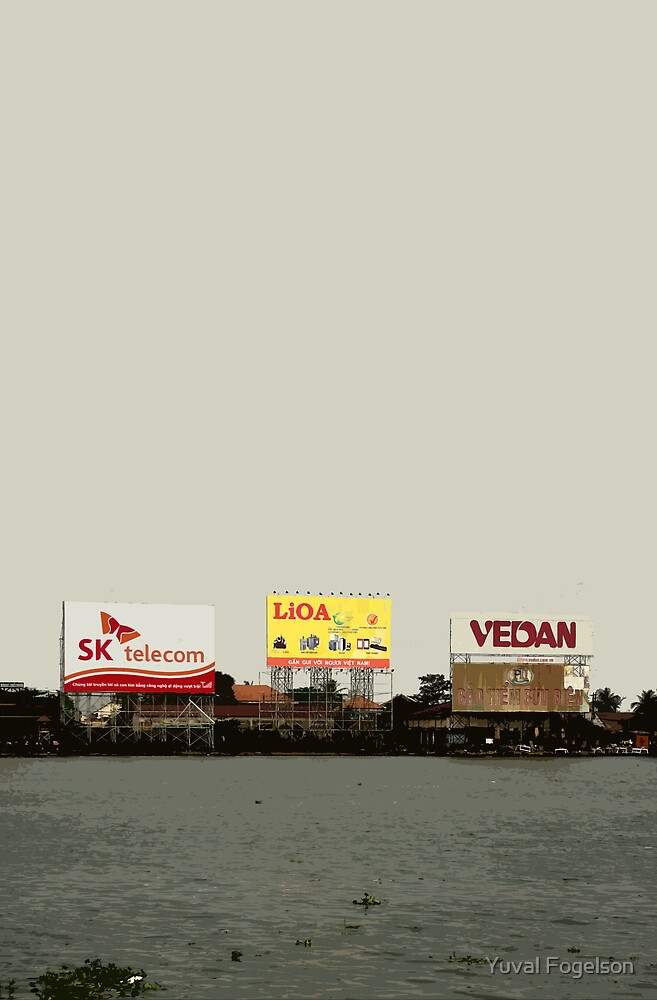 river billboards by Yuval Fogelson